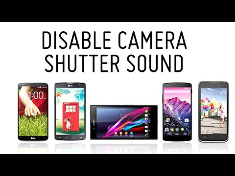 How to Disable Camera Shutter Sound on Android