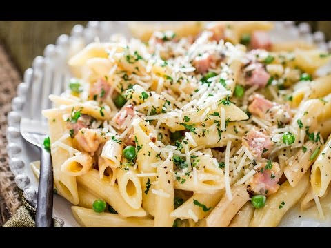 Leftover Ham and Cheese Penne