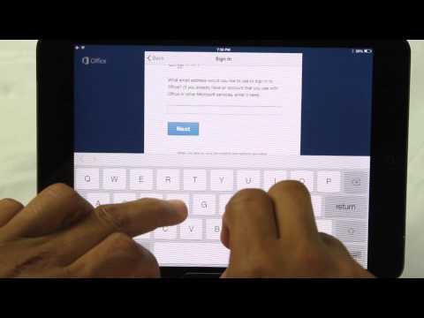 Microsoft Office on the iPad Air & iPad Mini UPDATED | H2TechVideos