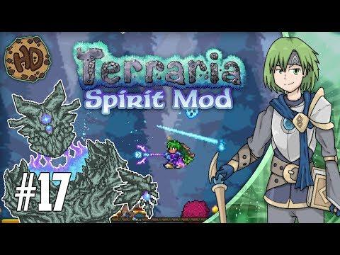 Terraria SPIRIT MOD Let's Play Part 17   ATLAS, GOLEM & MARTIANS!   1.3.5 PC