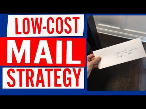 Mailers In Real-Estate: Low-Cost Strategies