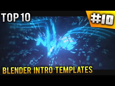TOP 10 BEST Blender intro templates #10 (Free download)