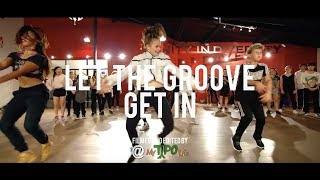 "Justin Timberlake - ""Let the Groove Get In"" 