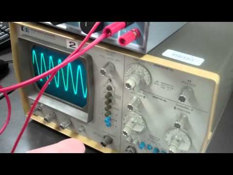 Phys 21L: Lab 13 (The Oscilloscope)