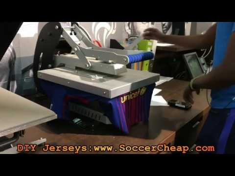How to DIY  Your Own Barcelona Soccer Jerseys