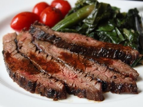 Grilled Miso-Glazed Skirt Steak - 4th of July Grilling Special!
