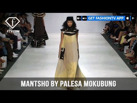 South Africa Fashion Week Fall/Winter 2018 - Mantsho By Palesa Mokubung | FashionTV