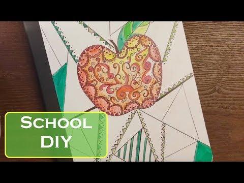 School Notebook DIY