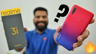 Realme 3i Unboxing & First Look - Best Looking Budget King? 🔥🔥🔥