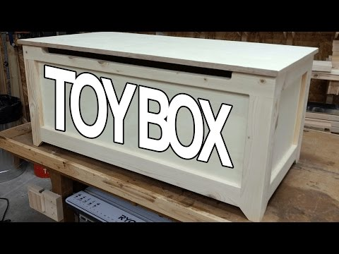 I built a Toy box