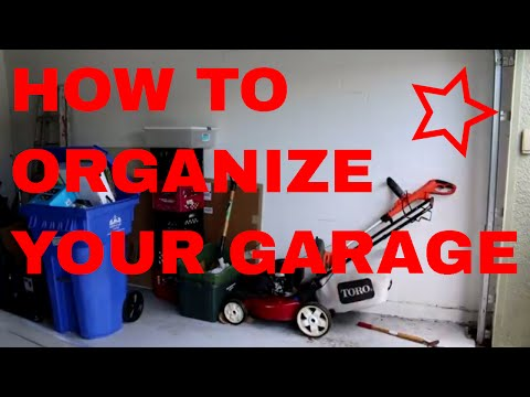 ✏️How to organize your garage.🔨 Putting up peg board...🔧Storing tools on the wall 📐. VLog4 🔩