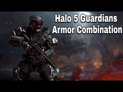 Halo 5 Guardians Armor Combination