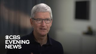 Apple CEO Tim Cook on what counts as too much screen time