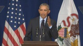 Pres. Barack Obama Rips President Donald Trump: Full Speech 9/7/2018
