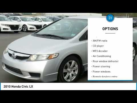 2010 Honda Civic Fayetteville NC, Fort Bragg NC, H572126A