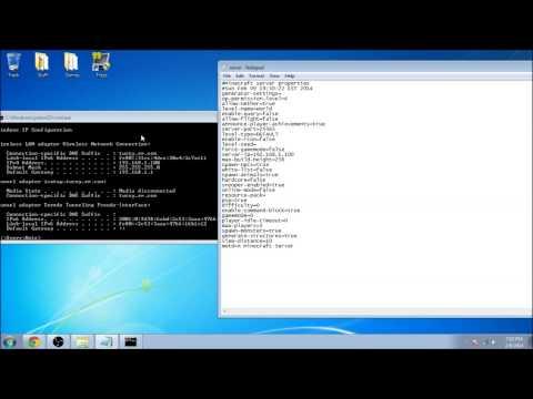 1.7.4 - How To Make A Minecraft Server [No Port Forwarding Or Hamachi] (EASY)