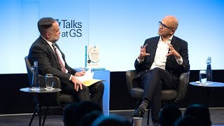 Talks at GS – Satya Nadella: Hitting Refresh on the Culture of Technology