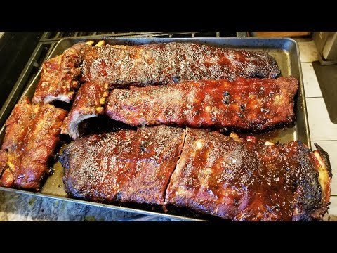 How to Make Competition BBQ Ribs at Home.