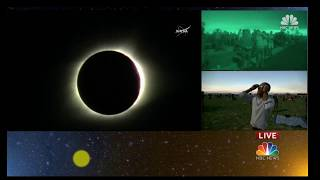 Great American Total Eclipse 2017 Live - Madras, Oregon