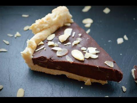 How To Make Coffee & Almond Chocolate Tart