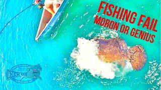 2017 Funny Best Fishing Fail Videos! Moron or Genius? Big Fish Canoe ft KayakbassinTV Flukemaster