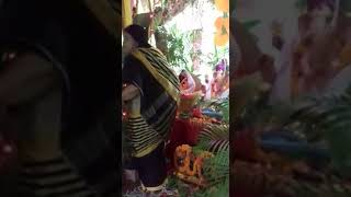Our Ganesh murti is drinking milk