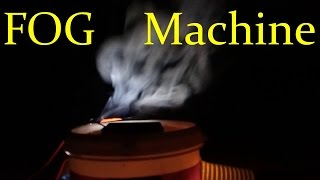 how to make a fog machine at home easy way