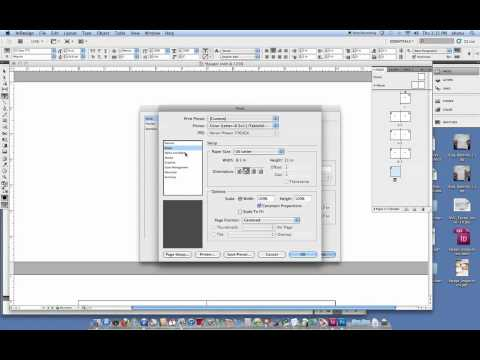 Printbooklet setup in InDesign CS5