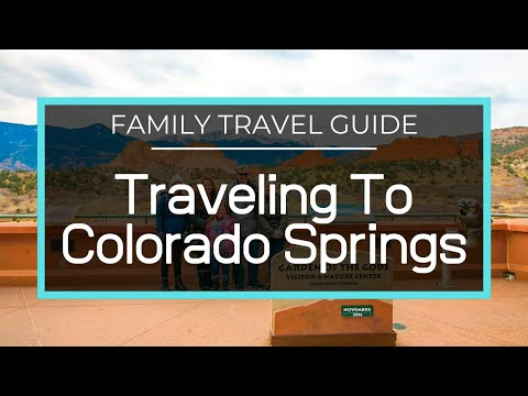 WE MADE IT! COLORADO SPRINGS - REESE FAMILY VLOG 80