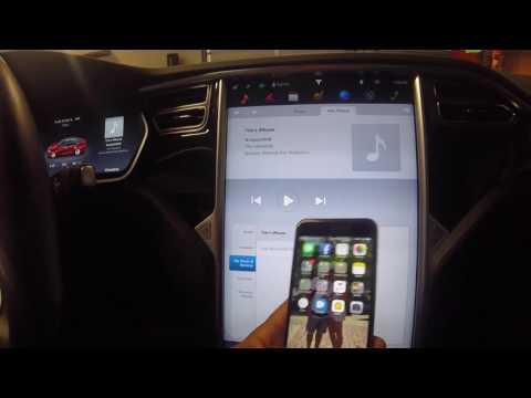 Tesla Model S Radio, Bluetooth & Internet Streaming