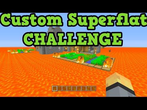 Minecraft Xbox One + PS4 TU25 Custom Superflat Survival LIVE