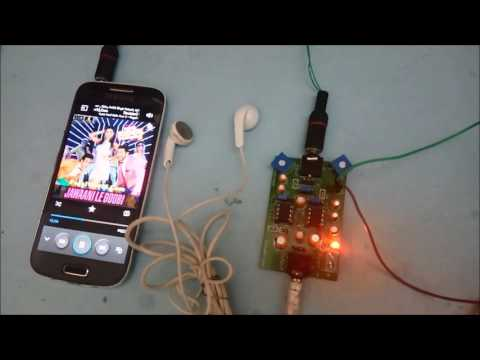 HeadPhone Amplifier on PCB using LM358