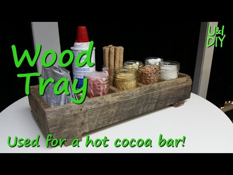Wood Tray - Build video