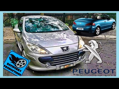 How To Change Peugeot 307cc 307 Headlight H1 Bulb / Globe Replacement Installation Tutorial