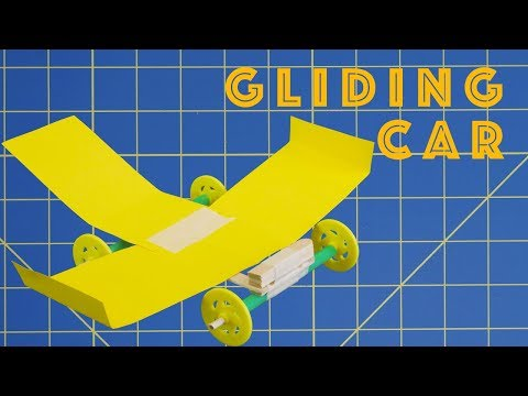 Gliding Car - Engineering Project for Kids