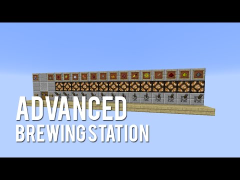 Redstone: Advanced Brewing Station [Tutorial]
