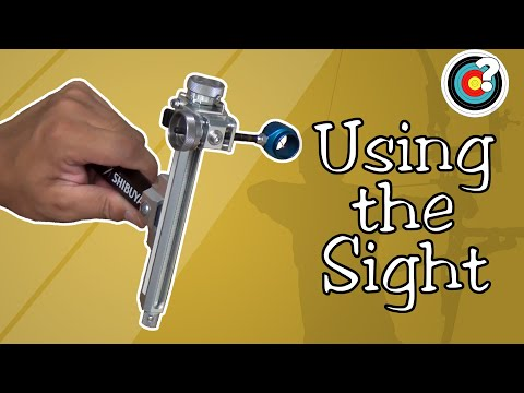 Archery | Using the Sight