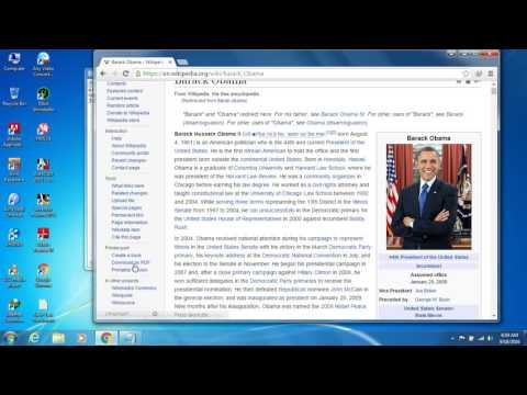 How to download any docoment from wikipedia as PDF