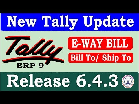 Tally ERP 9 Release 6.4.3 Tally Update   Download Latest Tally Version