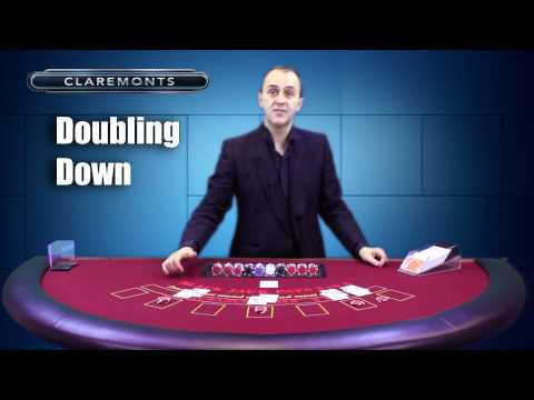 How to Play Blackjack - Doubling Down, Splitting & Push