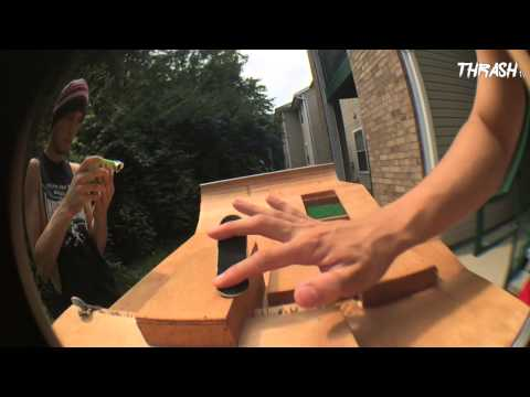 Homemade Wood Fingerboard Park - Check Out!