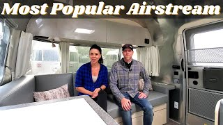 Walkthrough RV Tour of the Most Popular Airstream Trailer | 2021 Flying Cloud