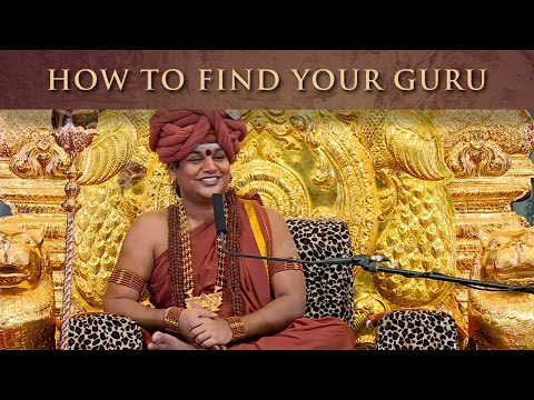 How to find your Guru - Love at First Sight