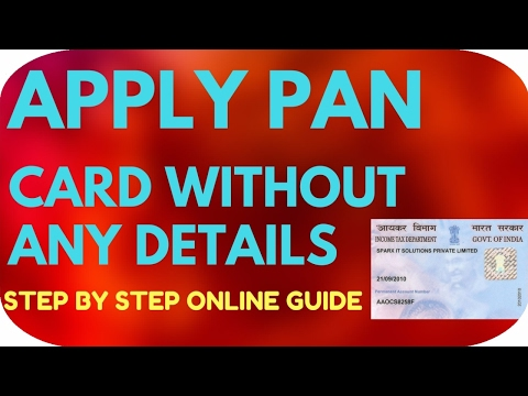 Apply for a PAN Card without address and identity Proof - Apply Pan Card Without any ID Proof -Paytm