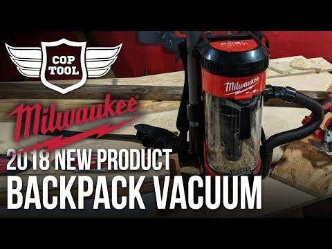 Milwaukee M18 FUEL 3-in-1 Backpack Vacuum 57 CFM - NPS18 Presentation