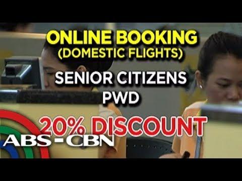 TV Patrol: Senior citizens at PWDs, may 20% discount sa online flight bookings