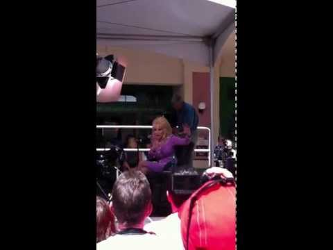 Dolly at Dollywood May 11, 2012