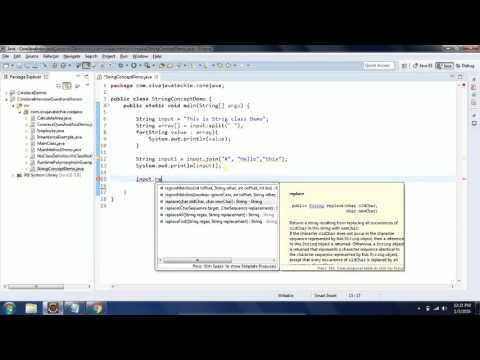 String Class Operations in Java with Examples - session3