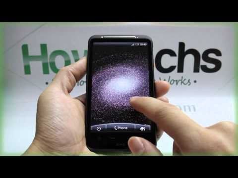 How to Change the Wallpaper on HTC Desire HD