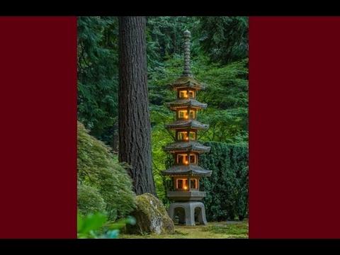 How to make an amazing concrete pagoda lantern